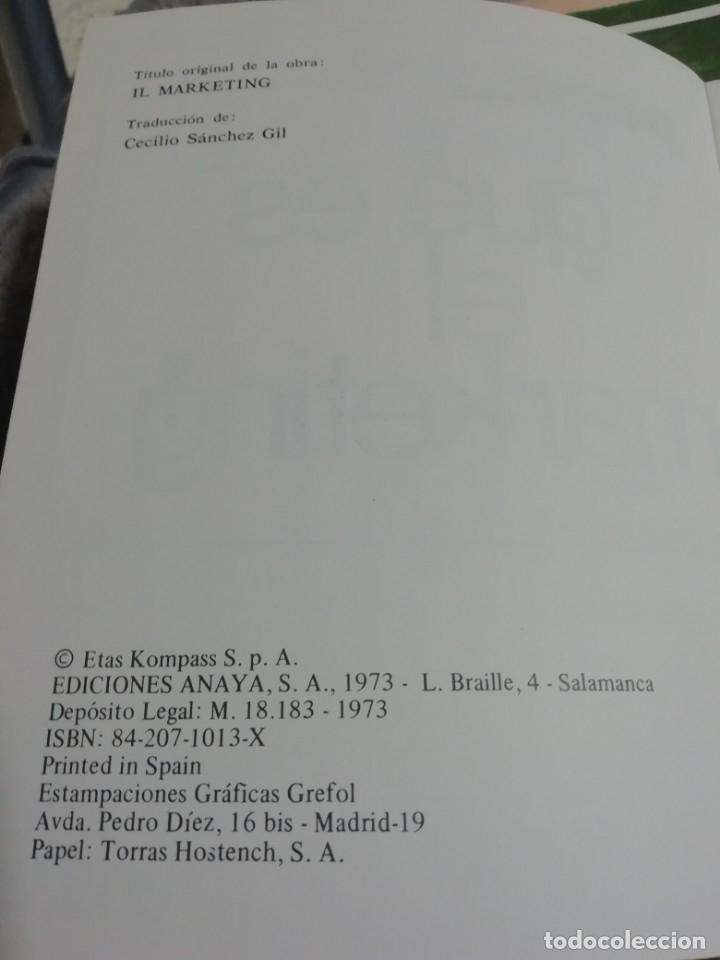 Libros antiguos: PERO... QUÉ ES EL MÁRKETING. - Foto 2 - 180033403