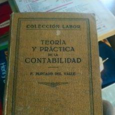 Libros antiguos: CONTABILIDAD 1929 MUY ANTIGUO RARO LIBRO. Lote 180166340