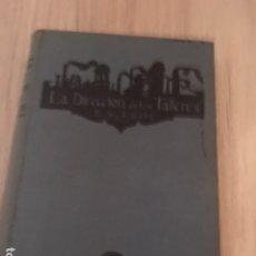 Libros antiguos: LA DIRECCIÓN DE LOS TALLERES. F. W. TAYLOR. ESTUDIO SOBRE LA ORGANIZACIÓN DEL TRABAJO. 1925. Lote 180179772
