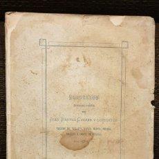 Libros antiguos: AÑO 1877 ALEGACION, PLEITO CACERES, EXTREMADURA, DUQUE MEDINACELLI, TIERRAS BADAJOZ. Lote 180197173