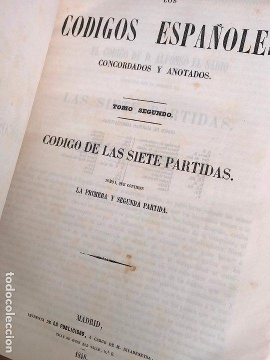 Libros antiguos: Los Códigos Españoles Concordados y Anotados 1847 - Foto 9 - 180902365