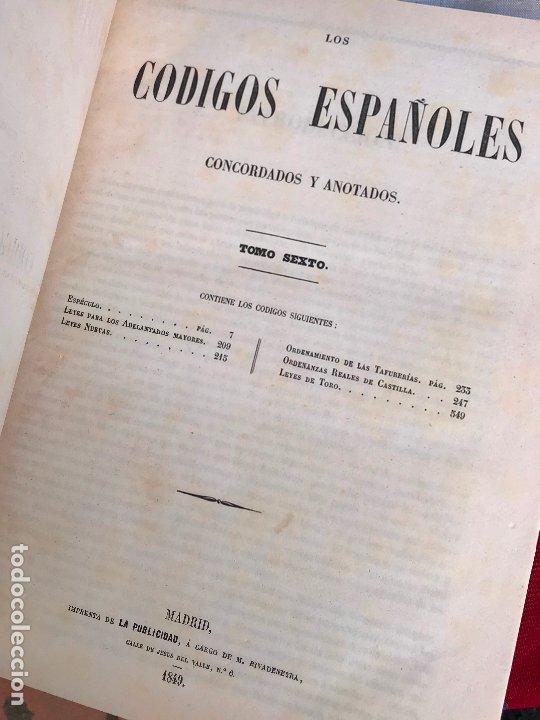Libros antiguos: Los Códigos Españoles Concordados y Anotados 1847 - Foto 10 - 180902365
