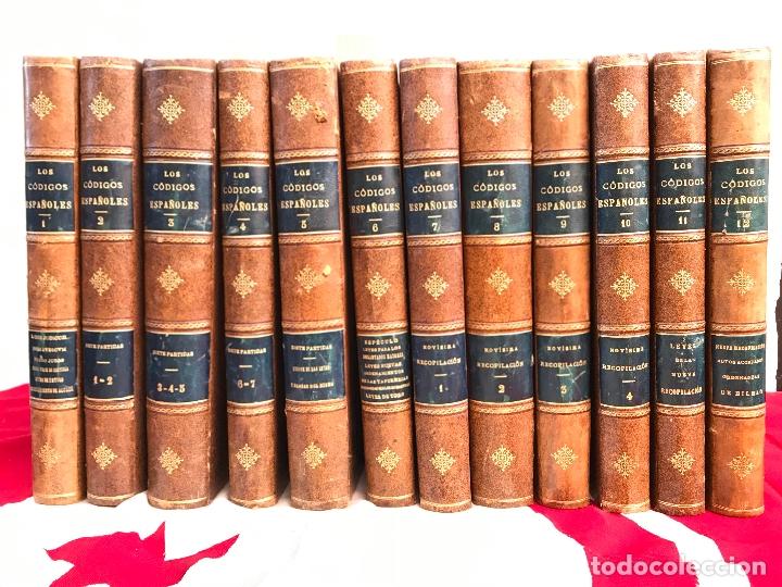 LOS CÓDIGOS ESPAÑOLES CONCORDADOS Y ANOTADOS 1847 (Libros Antiguos, Raros y Curiosos - Ciencias, Manuales y Oficios - Derecho, Economía y Comercio)