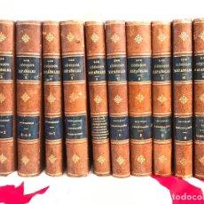 Libros antiguos: LOS CÓDIGOS ESPAÑOLES CONCORDADOS Y ANOTADOS 1847. Lote 180902365