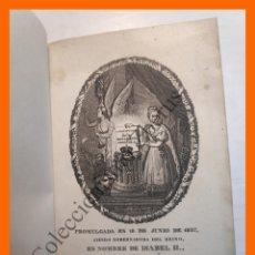 Libros antiguos: CONSTITUCION DE LA MONARQUIA ESPAÑOLA PROMULGADA EN MADRID A 18 DE JUNIO DE 1837. Lote 181520393