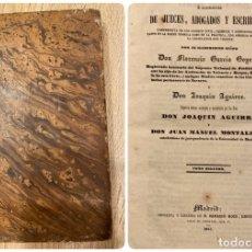 Libros antiguos: FEBRERO. LIBRERIA DE JUECES, ABOGADOS Y ESCRIBANOS. FLORENCIO GARCIA. TOMO II. MADRID, 1844.PAGS:308. Lote 182225290