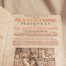 Libros antiguos: PRECIOSO LIBRO CON TAPAS DE PERGAMINO DEL SIGLO XVIII AÑO 1729 COVARRUVIA. Lote 182328088