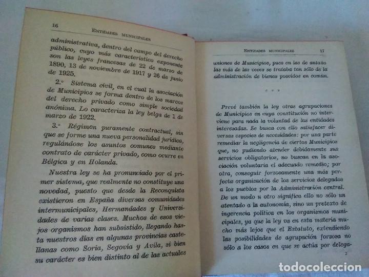 Libros antiguos: 25-LEY MUNICIPAL COMENTADA, Madrid 1935 - Foto 3 - 182433043