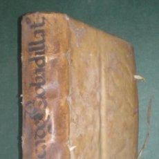 Libros antiguos: CASTILLO DE BOVADILLA: POLITICA PARA CORREGIDORES Y SEÑORES DE VASSALLOS... II. 1597 1ª EDICIÓN. Lote 182526810