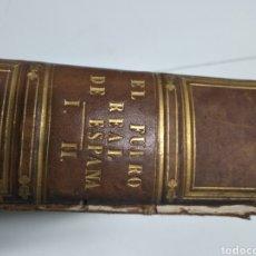 Libros antiguos: EL FUERO REAL DE ESPAÑA 1781. Lote 182531020