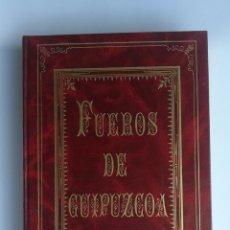 Libros antiguos: LOS FUEROS DE GUIPÚZCOA FACSÍMIL 1976. Lote 183219987
