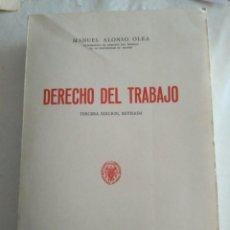 Libros antiguos: DERECHO DEL TRABAJO MANUEL ALONSO OLEA 1974 PUBLICACIONES UNIVERSIDAD DE MADRID. Lote 183615790