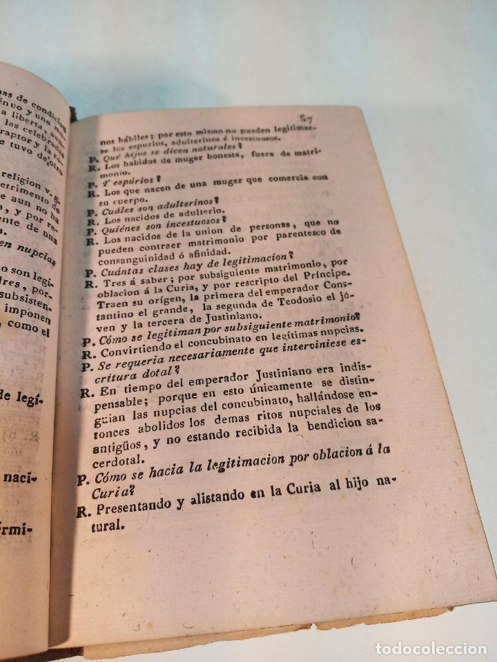 Libros antiguos: Manual de la legislación romana ó resumen histórico y definiciones del derecho romano. Madrid. 1838. - Foto 3 - 184089077