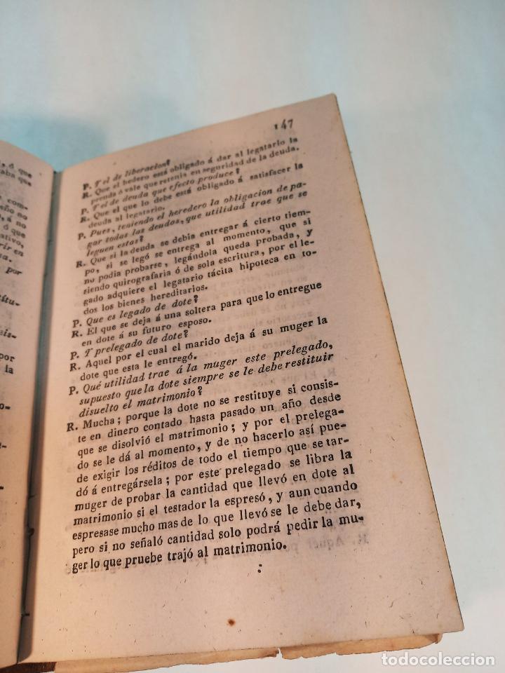 Libros antiguos: Manual de la legislación romana ó resumen histórico y definiciones del derecho romano. Madrid. 1838. - Foto 4 - 184089077