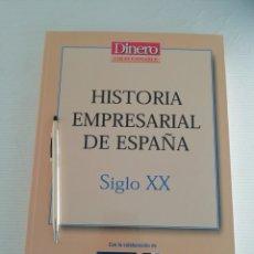 Libros antiguos: HISTORIA EMPRESARIAL DE ESPAÑA SIGLO XX. Lote 184186143