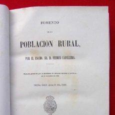 Libros antiguos: FOMENTO DE LA POBLACIÓN RURAL. MADRID. AÑO: 1864.. Lote 185704245