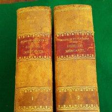 Libros antiguos: ESTUDIOS ELEMENTALES DE DERECHO MERCANTIL, DR. BLANCO CONSTANS. 2 TOMOS, 1901-1902. SEGUNDA EDICIÓN. Lote 186357201