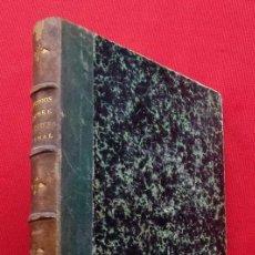 Libros antiguos: ESTUDIOS SOBRE DERECHO PENAL Y SISTEMAS PENITENCIARIOS. AÑO: 1875.MADRID. BUEN ESTADO.. Lote 187380428