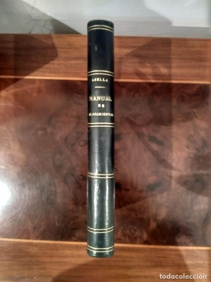 Libros antiguos: MANUAL DE ALOJAMIENTOS, BAGAJES, REVISTAS, SUMINISTROS Y TRANSPORTES MILITARES- ABELLA - MADRID 1910 - Foto 2 - 189376406