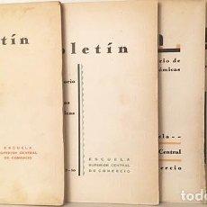 Libros antiguos: BOLETÍN DEL LABORATORIO DE CIENCIAS ECONÓMICAS NÚMS 3, 4, 6 Y 7. (1928 - 1933. DICTADURA REPÚBLICA. Lote 190047720