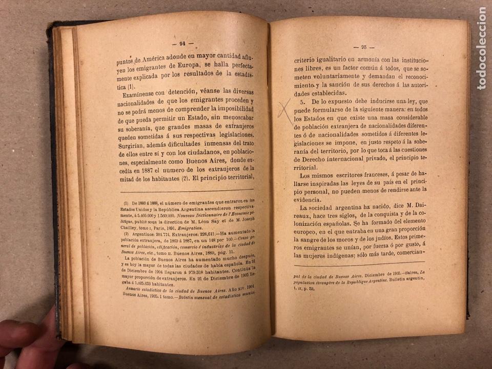 Libros antiguos: ELEMENTOS DE DERECHO INTERNACIONAL PRIVADO. MANUEL TORRES CAMPOS. LIBRERÍA DE FERNANDO FÉ 1906. - Foto 6 - 190176110