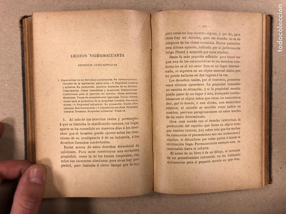 Libros antiguos: ELEMENTOS DE DERECHO INTERNACIONAL PRIVADO. MANUEL TORRES CAMPOS. LIBRERÍA DE FERNANDO FÉ 1906. - Foto 8 - 190176110