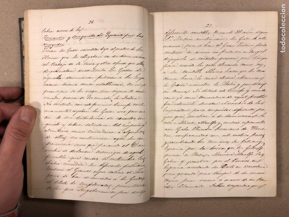 Libros antiguos: APUNTES DE DERECHO POLÍTICO Y ADMINISTRATIVO UNIVERSIDAD CENTRAL CURSO 1858-1859. 2 TOMOS. - Foto 6 - 190178585
