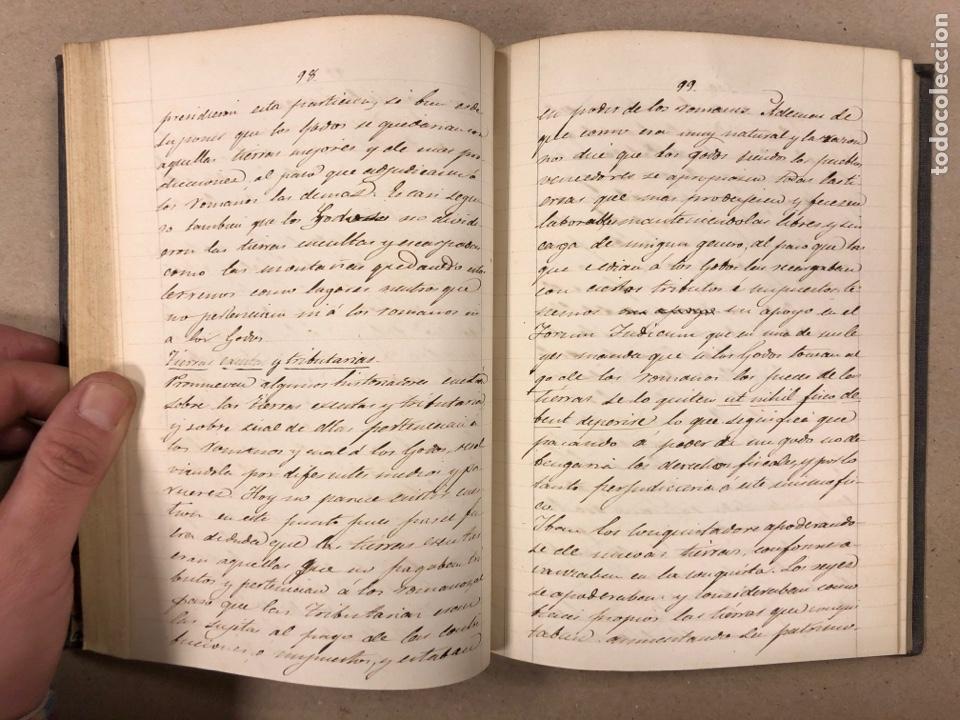 Libros antiguos: APUNTES DE DERECHO POLÍTICO Y ADMINISTRATIVO UNIVERSIDAD CENTRAL CURSO 1858-1859. 2 TOMOS. - Foto 7 - 190178585