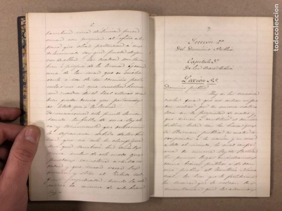 Libros antiguos: APUNTES DE DERECHO POLÍTICO Y ADMINISTRATIVO UNIVERSIDAD CENTRAL CURSO 1858-1859. 2 TOMOS. - Foto 13 - 190178585