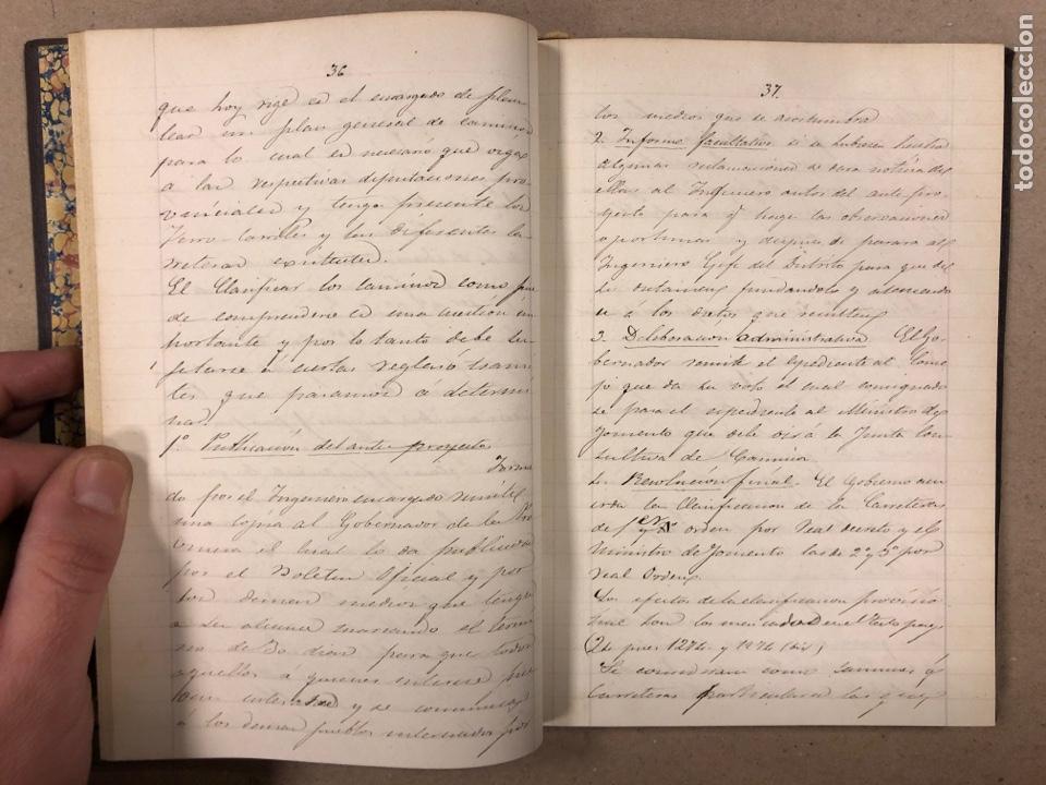 Libros antiguos: APUNTES DE DERECHO POLÍTICO Y ADMINISTRATIVO UNIVERSIDAD CENTRAL CURSO 1858-1859. 2 TOMOS. - Foto 14 - 190178585