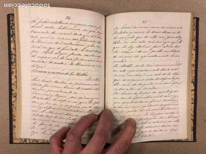Libros antiguos: APUNTES DE DERECHO POLÍTICO Y ADMINISTRATIVO UNIVERSIDAD CENTRAL CURSO 1858-1859. 2 TOMOS. - Foto 15 - 190178585