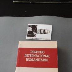 Libros antiguos: LIBRO DERECHO INTERNACIONAL HUMANITARIO - CRUZ ROJA. Lote 190597940