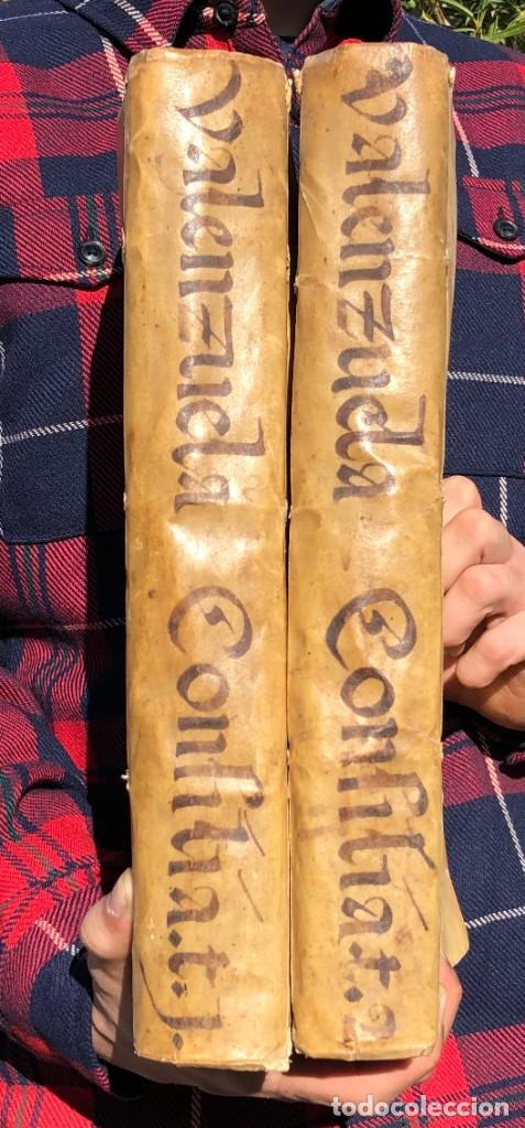 Libros antiguos: 1671 Derecho - Cuenca - Pergamino - Consilia sive responsa ivris - Valenzuela Velázquez - Foto 2 - 190805128