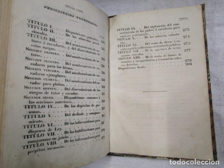 Libros antiguos: DERECHO CIVIL - LEY DE ENJUICIAMIENTO CIVIL - EDICION OFICIAL 1855 282pag 21cm + INFO - Foto 7 - 190873766