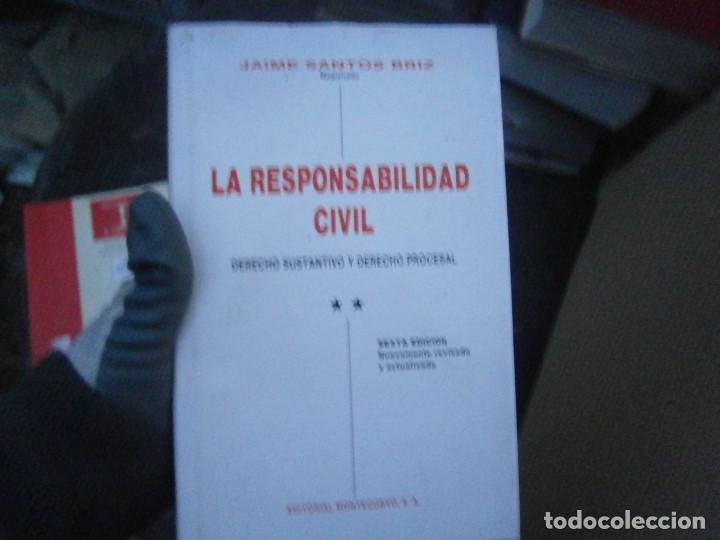 LA RESPONSABILIDAD CIVIL (Libros Antiguos, Raros y Curiosos - Ciencias, Manuales y Oficios - Derecho, Economía y Comercio)