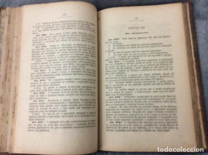 Libros antiguos: Codigo Commercial Portuguez + Repertorio Geral ou Indice Alphabetico do codigo Commercial portuguez - Foto 5 - 191354466
