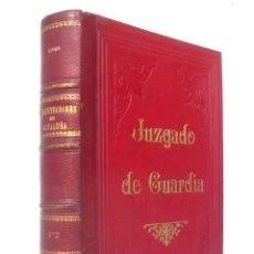 Libros antiguos: 1861 - USAGES Y DEMÁS DERECHOS DE CATALUÑA - 2 TOMOS - ENCUADERNACIÓN - JUZGADOS DE BARCELONA. Lote 191595225