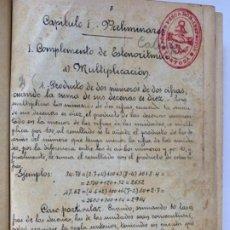 Libros antiguos: CÁLCULO COMERCIAL (LIBRO MANUSCRITO 1925). Lote 191779381