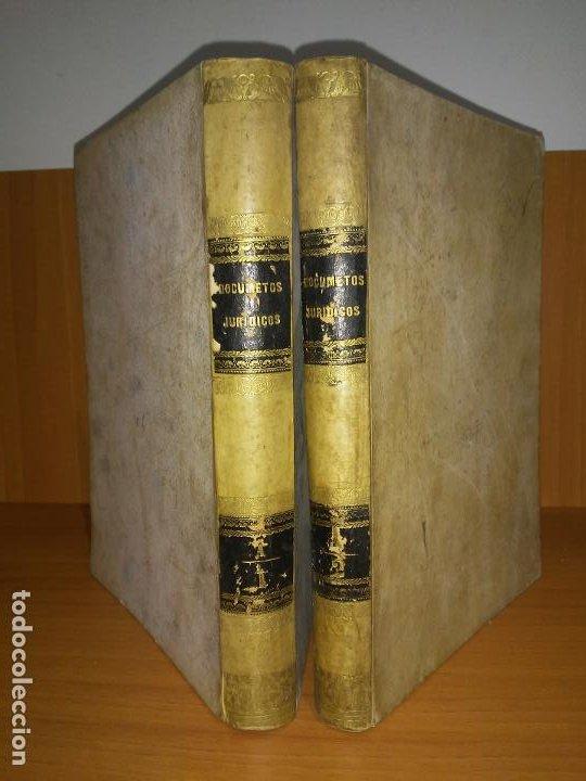 Libros antiguos: EXCEPCIONAL COLECCION DE LITIGIOS JUDICIALES DE LOS SIGLOS XVIII-XIX. - Foto 2 - 192139293