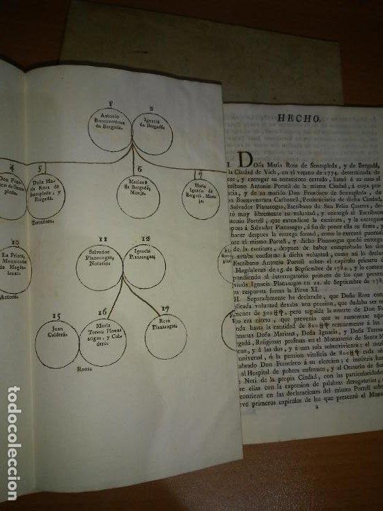 Libros antiguos: EXCEPCIONAL COLECCION DE LITIGIOS JUDICIALES DE LOS SIGLOS XVIII-XIX. - Foto 3 - 192139293
