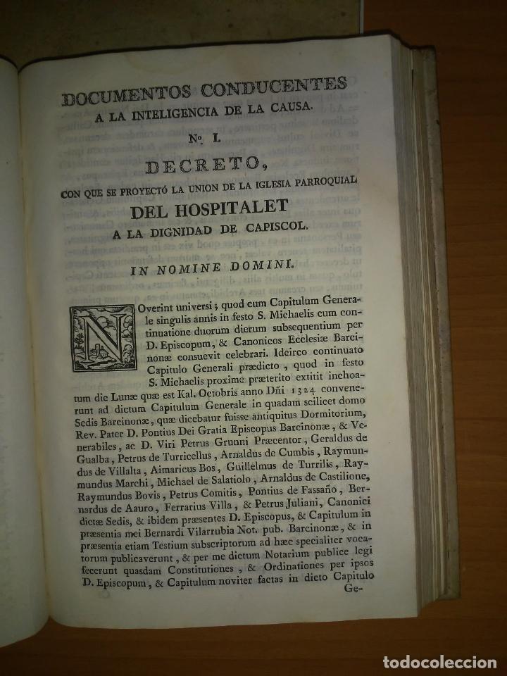 Libros antiguos: EXCEPCIONAL COLECCION DE LITIGIOS JUDICIALES DE LOS SIGLOS XVIII-XIX. - Foto 8 - 192139293