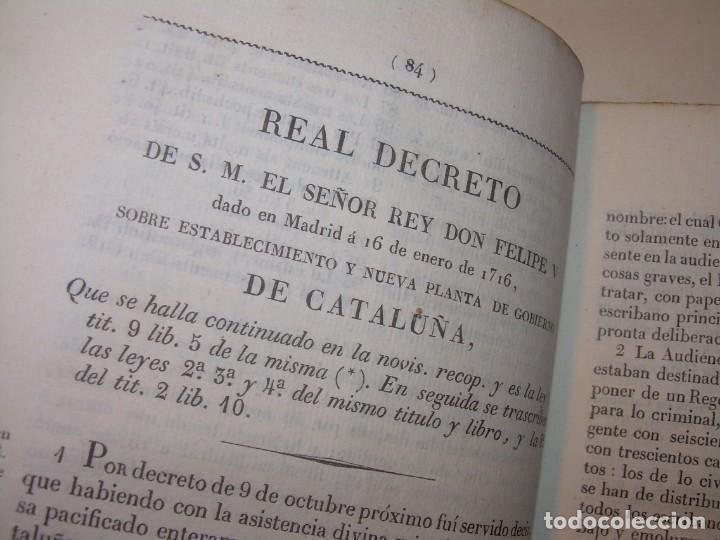 Libros antiguos: IMPORTANTE OBRA EN 4 TOMOS..USAGES DE CATALUÑA Y DEMAS DERECHOS....AÑO 1832 - Foto 7 - 194121355
