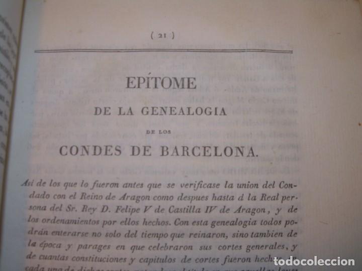 Libros antiguos: IMPORTANTE OBRA EN 4 TOMOS..USAGES DE CATALUÑA Y DEMAS DERECHOS....AÑO 1832 - Foto 8 - 194121355