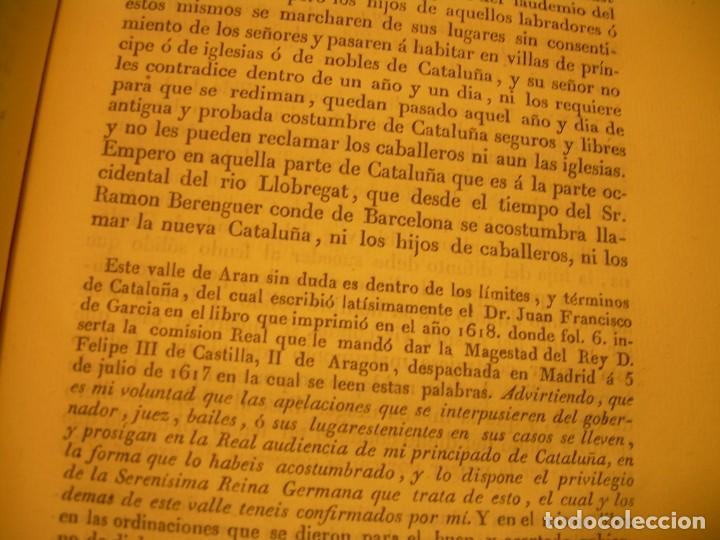 Libros antiguos: IMPORTANTE OBRA EN 4 TOMOS..USAGES DE CATALUÑA Y DEMAS DERECHOS....AÑO 1832 - Foto 17 - 194121355