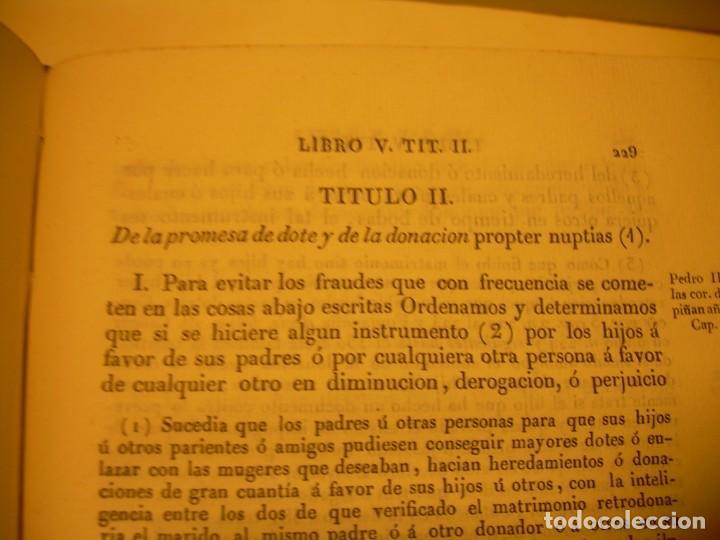 Libros antiguos: IMPORTANTE OBRA EN 4 TOMOS..USAGES DE CATALUÑA Y DEMAS DERECHOS....AÑO 1832 - Foto 18 - 194121355