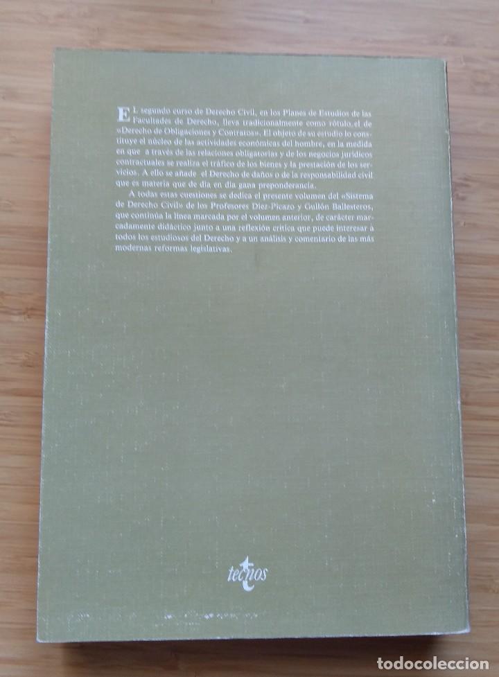 Libros antiguos: Sistema de derecho civil. Vol. II Luis Díez-Picazo Antonio Gullón. 1982 - Foto 2 - 194186130