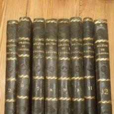 Libros antiguos: BOLETÍN DE JURISPRUDENCIA Y LEGISLACIÓN 1842 HASTA 1845. Lote 194191880