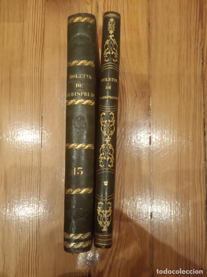 BOLETÍN DE JURISPRUDENCIA, LEGISLACIÓN Y ADMINISTRACIÓN 1845 TOMO I Y II (Libros Antiguos, Raros y Curiosos - Ciencias, Manuales y Oficios - Derecho, Economía y Comercio)