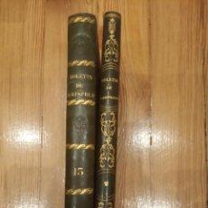 Libros antiguos: BOLETÍN DE JURISPRUDENCIA, LEGISLACIÓN Y ADMINISTRACIÓN 1845 TOMO I Y II. Lote 194192603