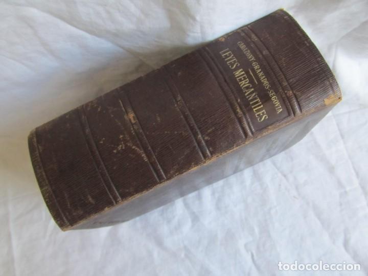 Libros antiguos: Legislación española Leyes mercantiles Carazony Granados Segovia 1935 - Foto 4 - 194218363